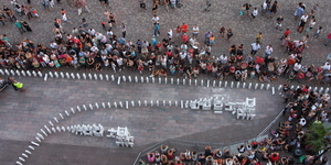See The Great Fire Recreated...In Dominoes