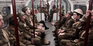 Did You See These Soldiers Around London?