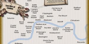 Mapped: London's Lost Neighbourhoods