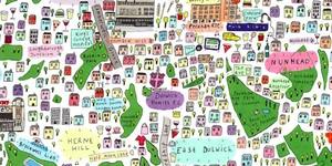 Can you spot your part of town on this stunning new London map?
