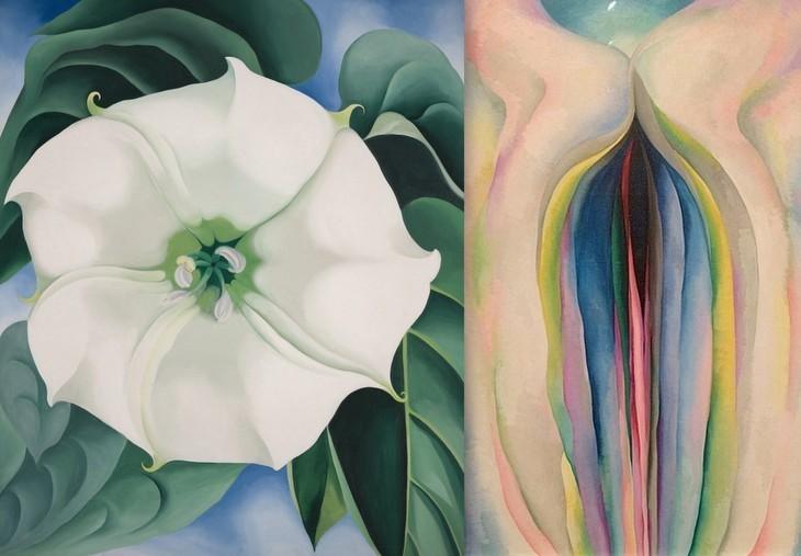 Georgia O'Keeffe Blossoms At Tate Modern