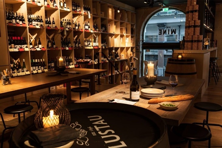New Street Wine Shop, one of the best wine bars in London.