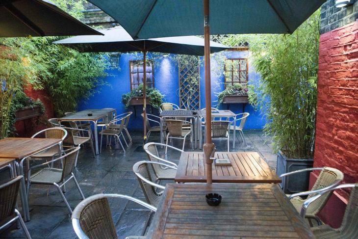Camel and Artichoke, London's best beer gardens and ideal for a pub crawl around south London