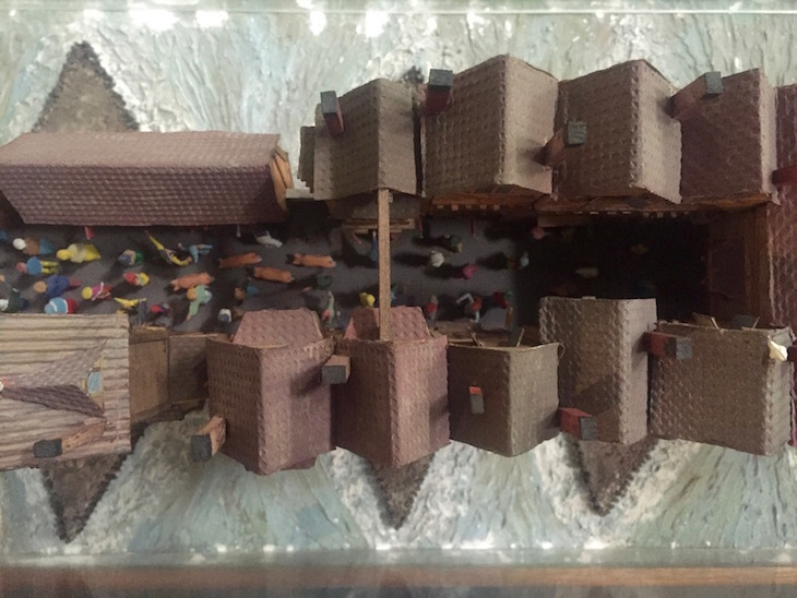 A model of Old London Bridge that you really need to visit: