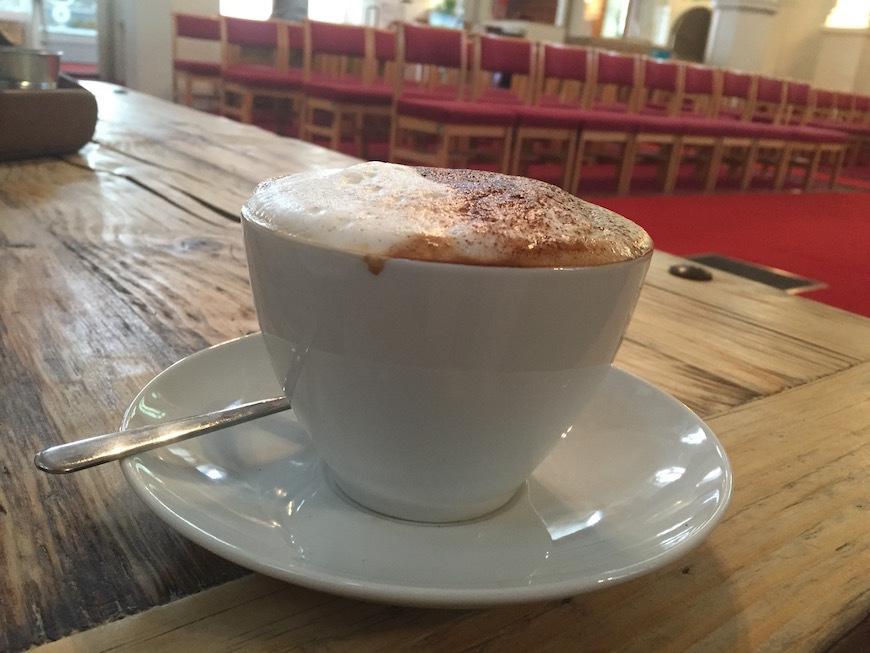 Coffee In A Church In Holborn