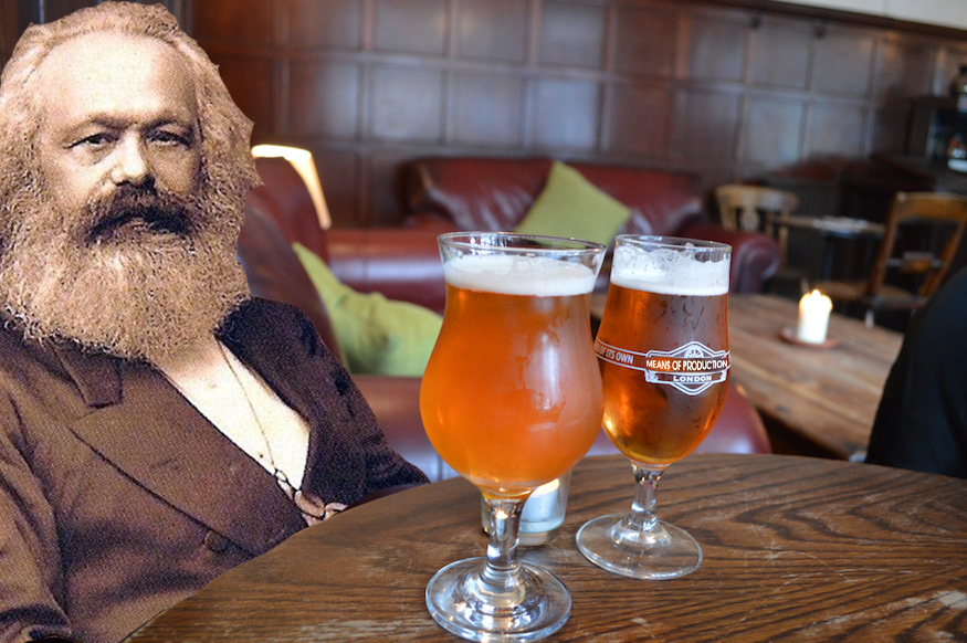Image result for communist beer