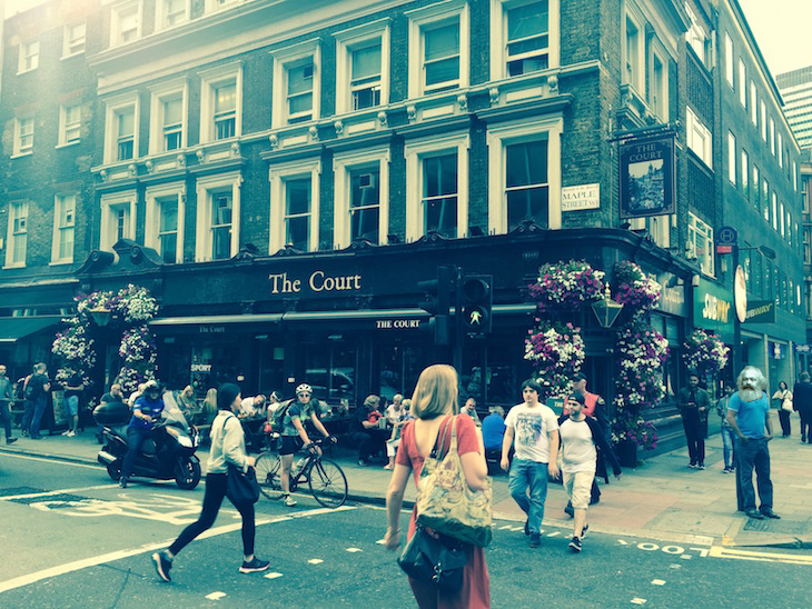 How Karl Marx once trashed Tottenham Court Road: