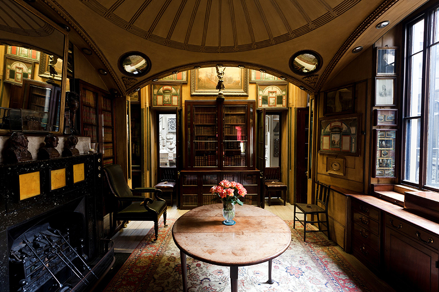 9 secrets of sir john soane 39 s museum londonist. Black Bedroom Furniture Sets. Home Design Ideas
