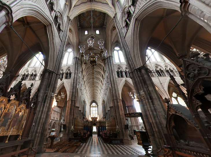 Westminster Abbey Now On Google Street View | Londonist