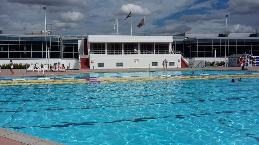 Swimming Shorts The Rebirth Of Hillingdon Lido Londonist