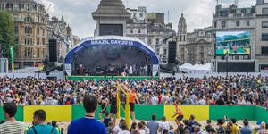 Get A Taste Of Rio At Huge Trafalgar Square Festival