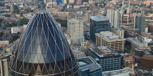 The Gherkin Is Disappearing From London's Skyline