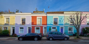 In Photos: London's Most Colourful Streets