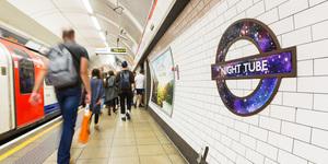TfL Reveals New Night Tube Roundel