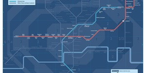 First Look At The New Night Tube Map