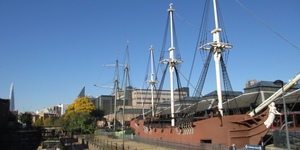Why Are There 2 Pirate Ships Moored In Wapping?