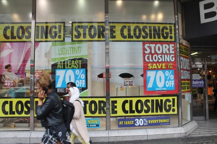 In Pictures: The Last Days Of Oxford Street's BHS