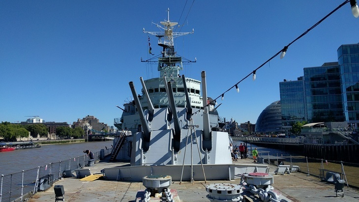 11 Secrets Of HMS Belfast @I_W_M