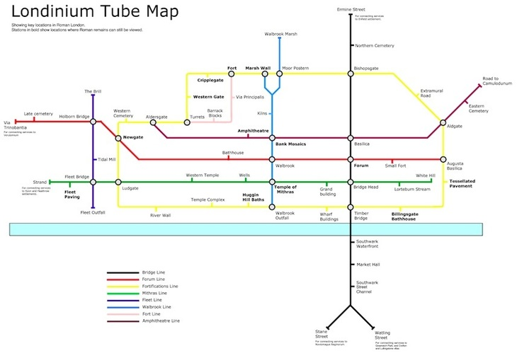 Awesome Alternative Tube Maps