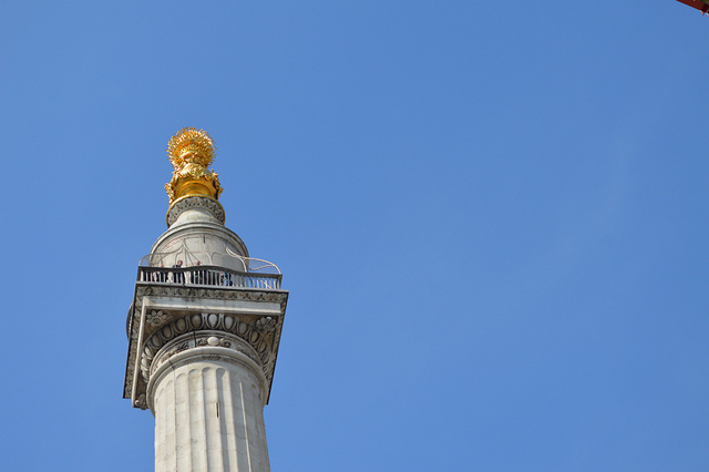 Londonist Out Loud: A Trip To The Top Of The Monument