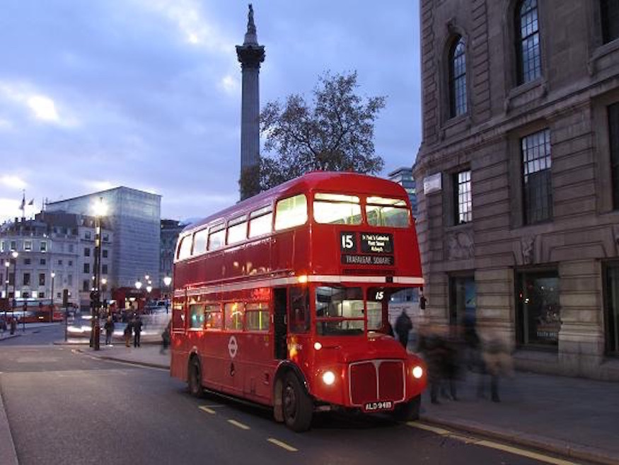 See London's Ancient History By Bus