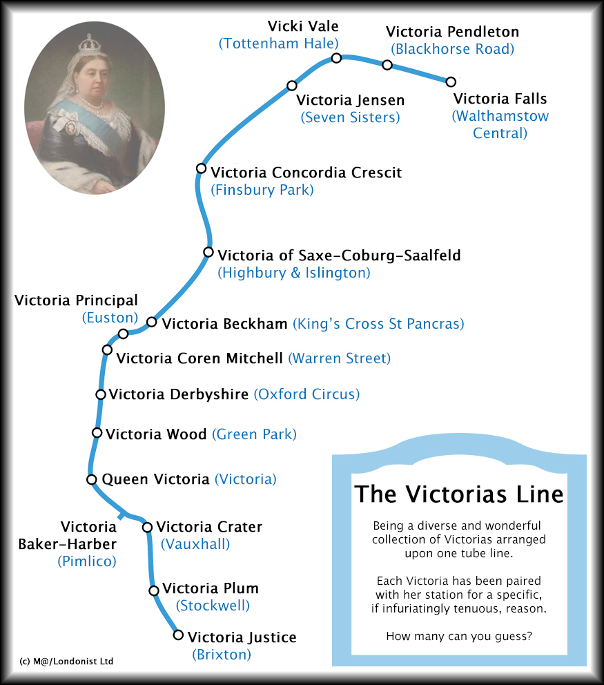 We've Updated The Victoria Line With A Bit More Victoria...