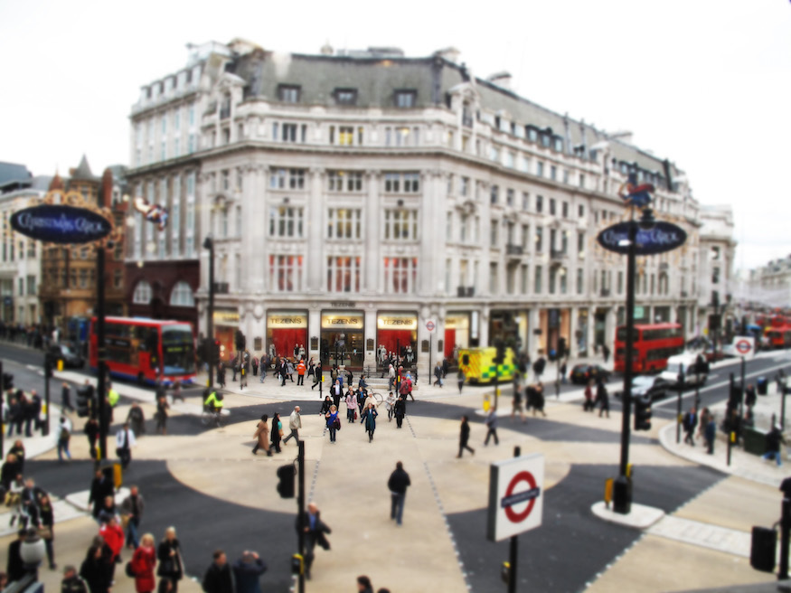 Green Family Stores >> Is This The End Of Oxford Circus's Diagonal Crossing ...