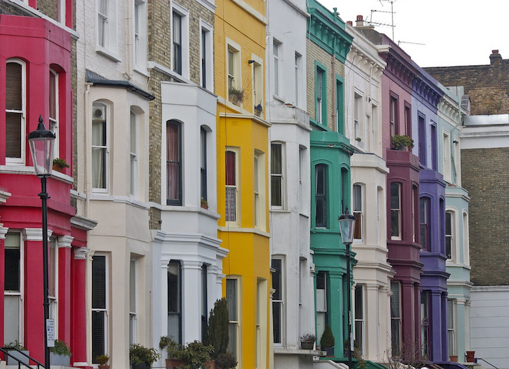 The Coloured House.In Photos London S Most Colourful Streets Londonist