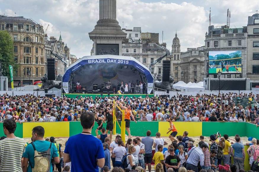 Free Brazilian Festival Comes To Trafalgar Square