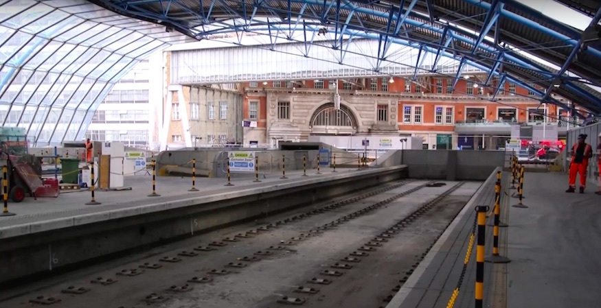 Video: behind the scenes at Waterloo's abandoned Eurostar platforms