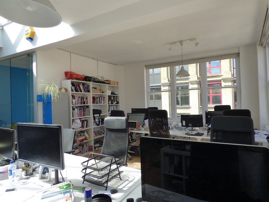 Rent a desk at Londonist HQ