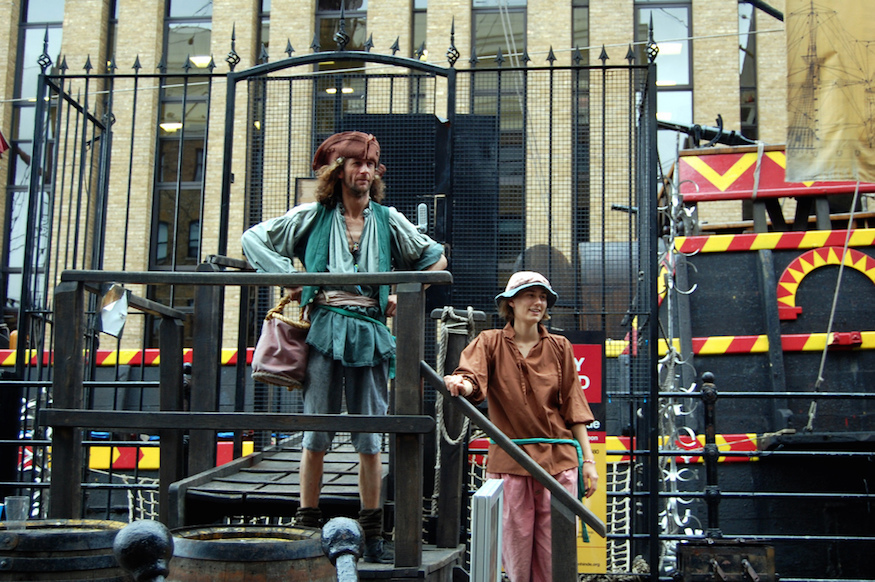 Where To Be A Pirate In London | Londonist