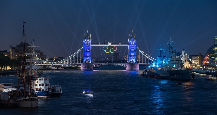 In Search Of London's Giant 2012 Olympic Rings