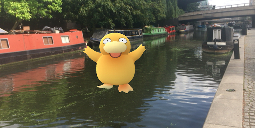 Here's Where To Find Pokémon On London's Canals
