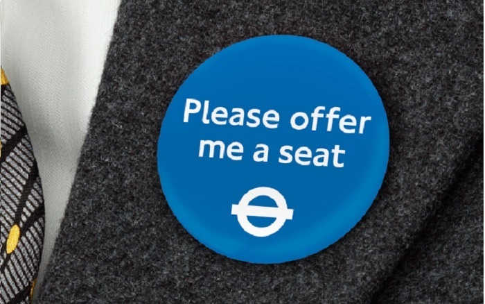 Look Out For These New 'Please Offer Me A Seat' Badges