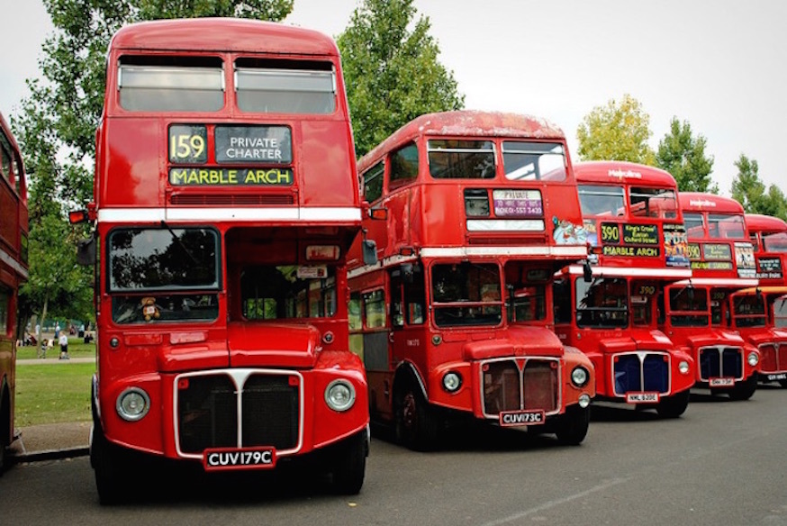 How Double Deckers Come To The Rescue When The Metric System Won't Do