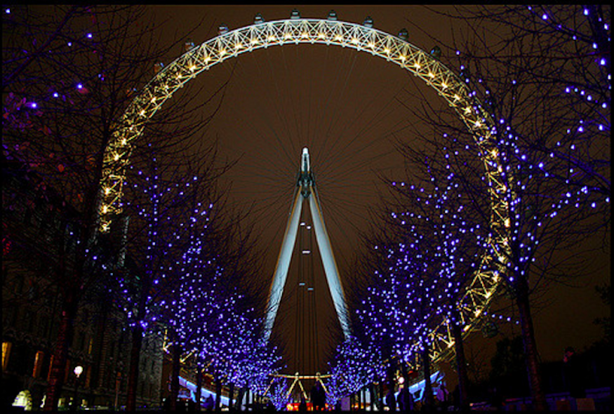The London Eye Will Turn Gold Tonight At 9.30pm