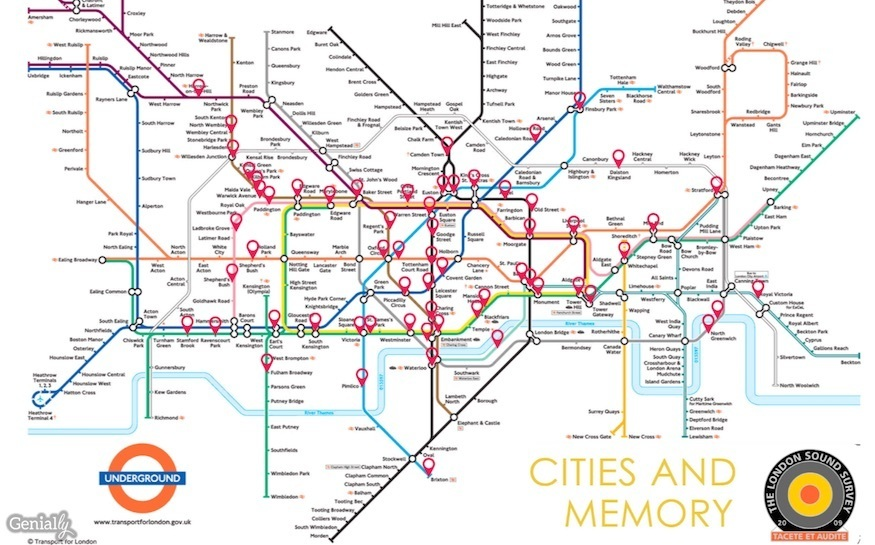 Presenting The London Underground Sound Map