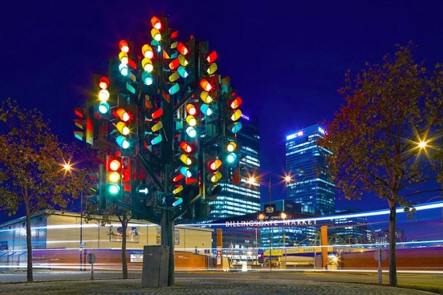 London Traffic Lights Building