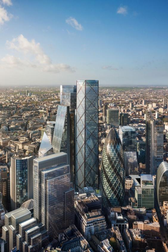 How the Gherkin could soon disappear from the skyline