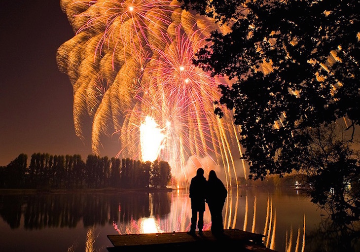 Firework Displays In London