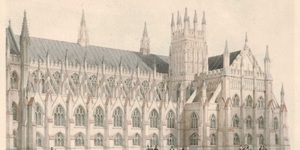 How The Houses of Parliament Might Have Looked