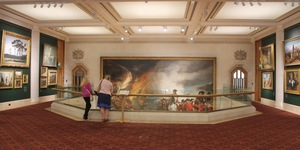The Painting So Big, Its Gallery Is Designed Around It