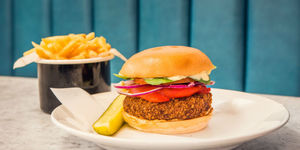 No meat needed to enjoy these burgers