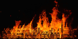 In Pictures: London's Burning, The Great Fire 350 Festival