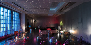 Disco Balls And Fish Arrive At The Serpentine Galleries