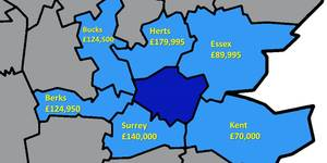 Updated: How Much Does It Cost To Buy Outside London?