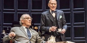 Review: McKellen And Stewart Tussle In No Man's Land