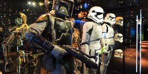 See Star Wars Memorabilia In London