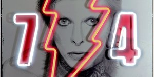 David Bowie Has Been Immortalised In These Neon Artworks